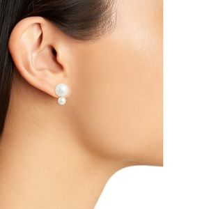 Kate Spade Faux Pearl Bauble Studs